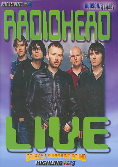 LIVE BY RADIOHEAD (DVD)