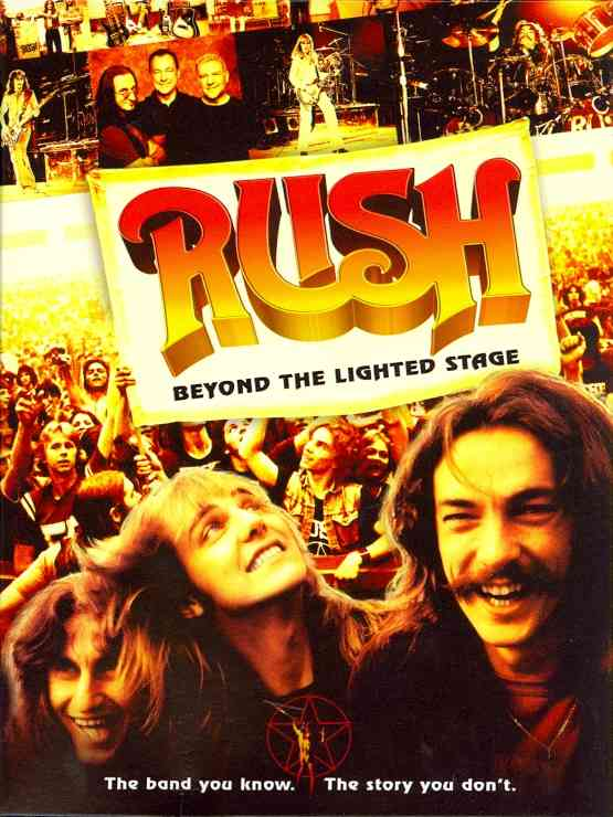 BEYOND THE LIGHTED STAGE BY RUSH (DVD)